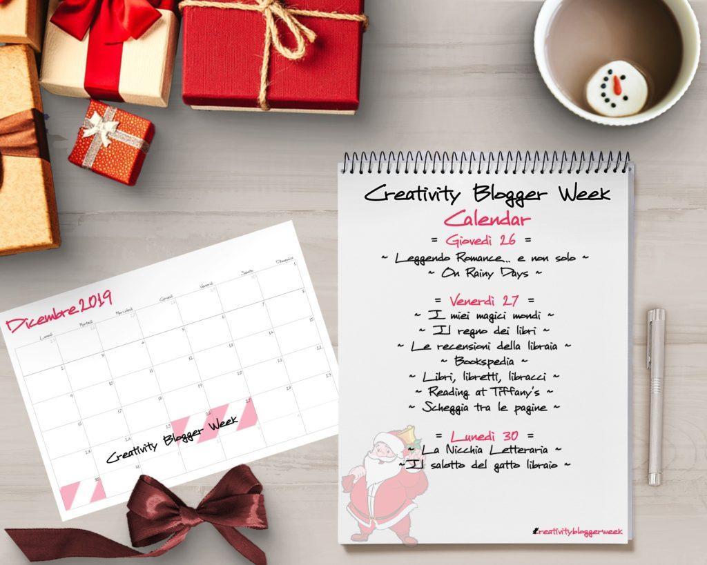 Creativity Blogger week, regalo inaspettato, natale, feste, anno nuovo, Babbo Natale