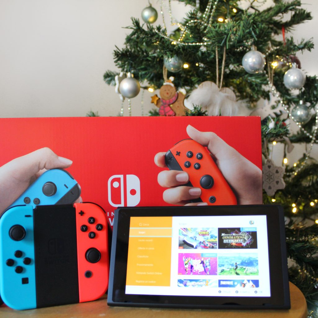 Nintendo Switch, Nintendo, Crash Bandicoot, Fit Adventure, Babbo Natale, Sotto l'albero