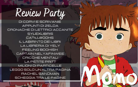 Momo, review party, blog partecipanti, tenue