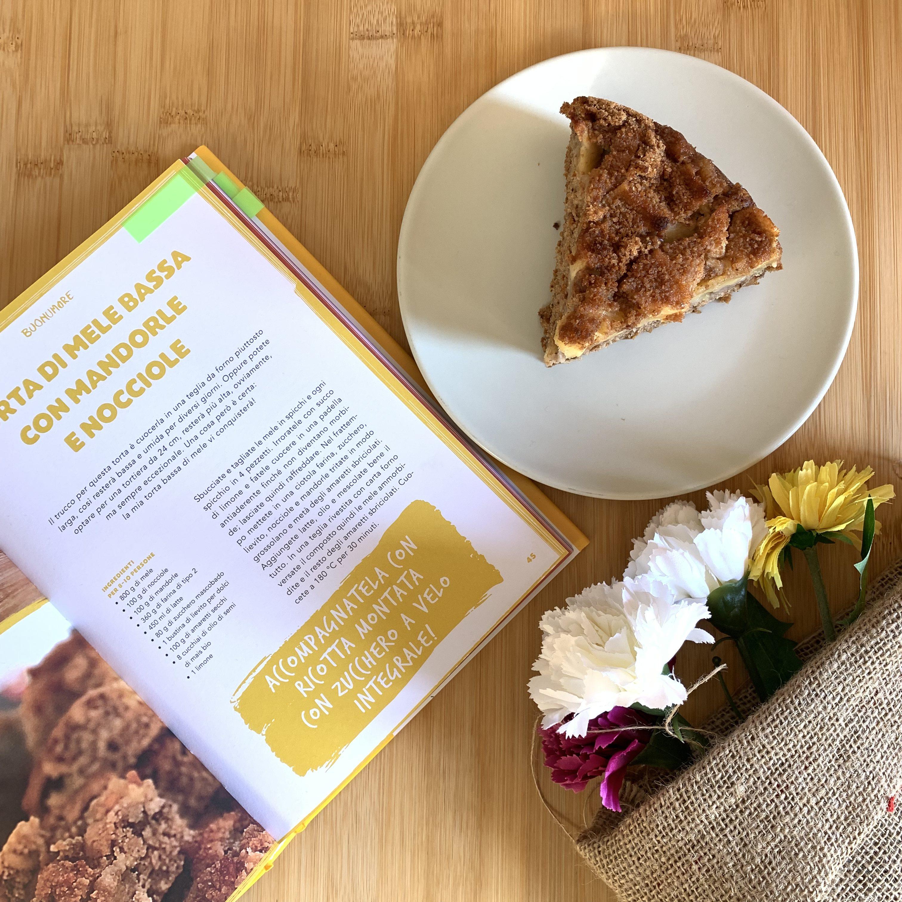 Torta di mele Marco Bianchi Harper Collins Italia Libro di ricette Buonumore La mia cucina delle emozioni Creativity Blogger Week