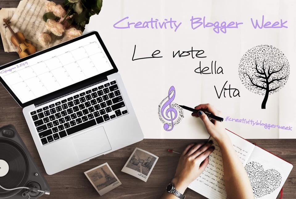 Creativity blogger week, giugno, blogger, note, musica, cartoni animati, Harry Potter, il signore degli anelli, Twilight, orgoglio e pregiudizio, gli aristogatti