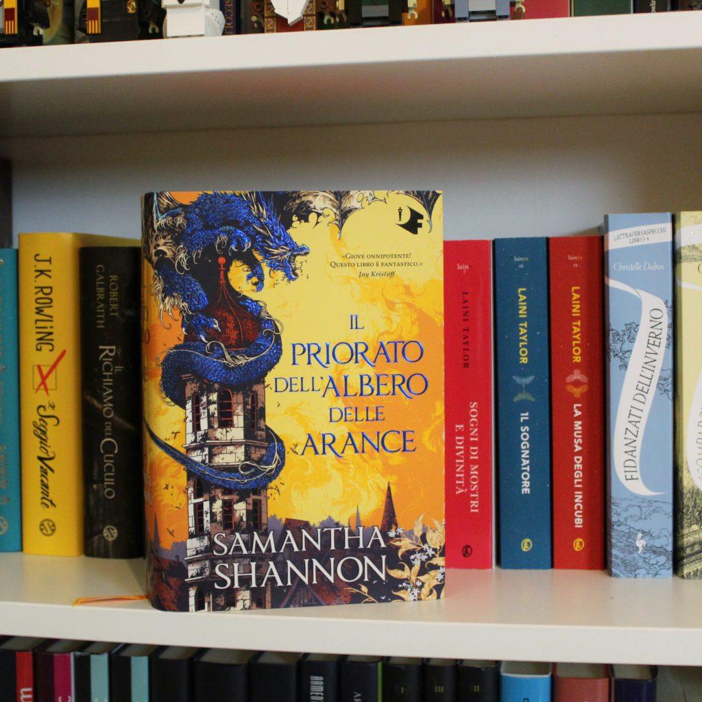 Il priorato dell'albero delle arance, Samantha Shannon, Oscar vault, mondadori, oscar fantastica, fantasy, regine, magia, draghi, nevernight, epic fantasy, Il signore degli anelli