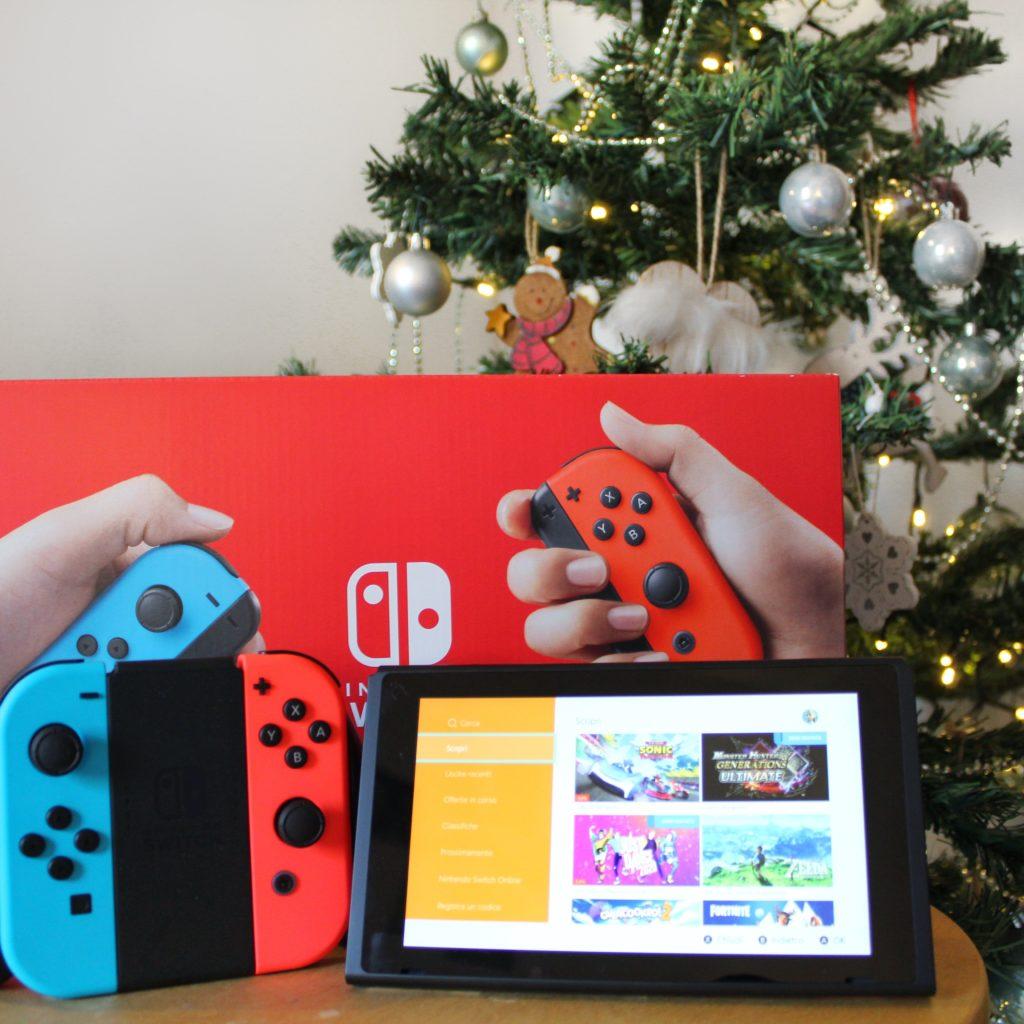 Nintendo Switch, Nintendo, Crash Bandicoot, Fit Adventure, Babbo Natale, Sotto l'albero