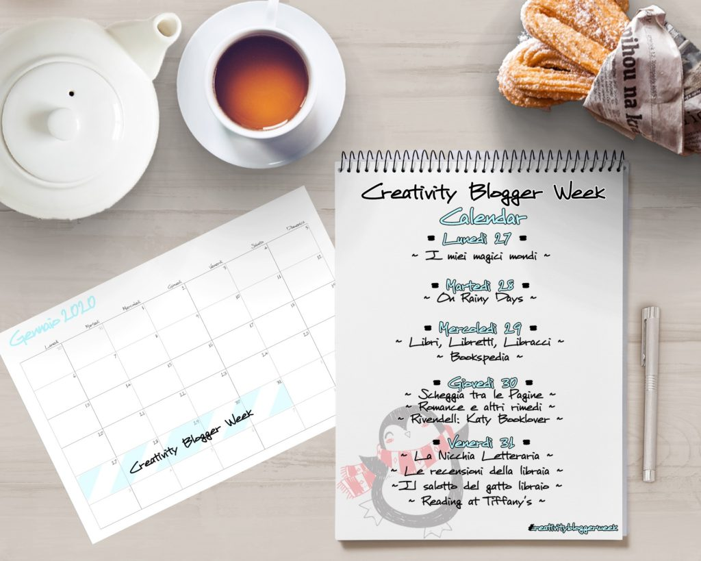 Brr che freddo, creativity blogger week, tema del mese, calendario, gennaio