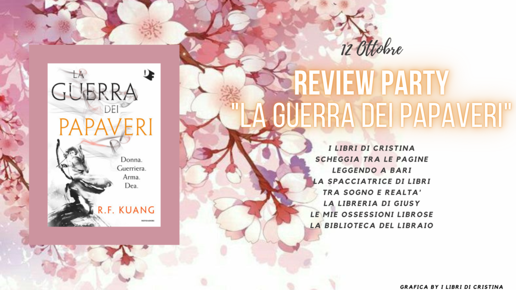 Banner, la guerra dei papaveri, review party, mondadori, oscar vault, Oscar fantastica, blog, blogtour, recensione