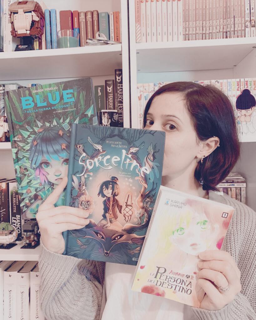 La persona del destino, Blue, Sorceline, Arrivare a te, Davide Tosello, Sylvia Douyé, Paola Antista, Licia Troisi, Karuho Shiina, StarComics, manga, fumetti, recensione