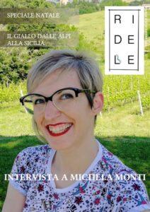 Ridele, numero 4, Michela Monti, otto, triskell edizioni, storie della buonanotte per bambine ribelli, consigli di Natale